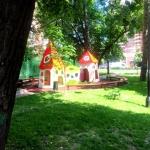 Благоустройство территорий малые архитектурные формы детская площадка Москва 2016