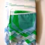 Изготовление гирлянд из флажков на заказ пастельные тона флажная лента флажковая лента РостАрт Москва 2018 12440