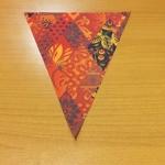 Полноцветная печать на ткани изготовление флажной ленты к Олимпиаде СОЧИ 2014 РостАрт 1004