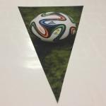 Полноцветная печать на ткани изготовление флажной ленты к Олимпиаде РИО РостАрт 2203
