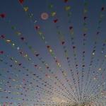 Изготовление флажной ленты на заказ гирлянда из флажков определенных цветов  МЕГА Санкт-Петербург РостАрт 5690