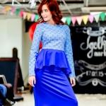 Изготовление гирлянд из флажков флажной ленты для показа моды Россия 2015