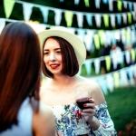 Изготовление гирлянды из флажков на заказ для мероприятия праздник пикник РостАрт Москва 2017 5536