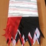 Изготовление гирлянд из флажков на заказ флажная лента на заказ из ткани РостАрт Москва 16800
