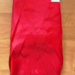 Изготовление флажной ленты на заказ из ткани одноцветная красного цвета флажная лента из ткани РостАрт Москва 2018 16822