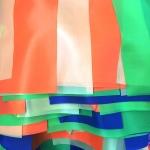Гирлянды из флажков из ткани на заказ квадрат прямоугольник флажная лента из ткани на веревке РостАрт Москва 2018 18247