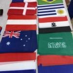 Изготовление флажков печать флагов мира изготовление гирлянд флажков на заказ для FIFA 2018 РостАрт Москва 15980