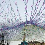 Изготовление флажной ленты на заказ гирлянда из флажков Масленица Москва 2107 изготовитель РостАрт 5510