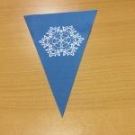 Печать на ткани изготовление флажной ленты на праздник Новый Год РостАрт 2203