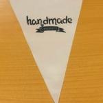 Полноцветная печать на ткани изготовление флажной ленты брендирование HANDMADE Charity РостАрт 2221