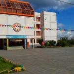 Флаговые конструкции флажная лента оформление Школы к 1 сентября 2016 РостАрт 0890