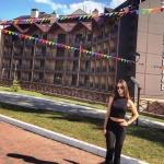 Изготовление гирлянд из флажков флажная лента на заказ для гостиницы базы дома отдыха АРХЫЗ Москва РостАрт 16573