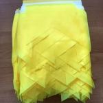 Изготовление гирлянд из флажков из ткани на заказ одноцветные флажная лента на заказ РостАрт Москва 2018 15988