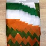 Изготовление гирлянд из флажков из ткани печать на ткани РостАрт Москва 2017 8380