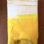 Изготовление гирлянд из флажков из ткани на заказ флажная лента на заказ из ткани ЖЕЛТАЯ для праздника РостАрт Москва 2018 12124