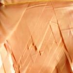 Гирлянды из флажков из ткани на заказ флажная лента на тесьме одноцветная оранжевая РостАрт Москва 2018 18240