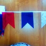 Изготовление флажной ленты на заказ печать флажков для тематического оформления мероприятия РостАрт 3331