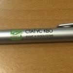 Печать на ручках брендирование аудиторской компании тампопечать 0331 РостАрт 2015