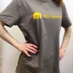 Изготовление футболок печать на футболках на заказ отрисовка макета индивидуальная упаковка РостАрт Москва 2018 404