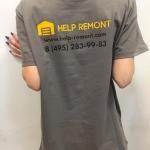 Изготовление футболок печать на футболках на заказ отрисовка макета индивидуальная упаковка РостАрт Москва 2018 405