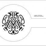 Изготовление трафаретов для кофе из пластика Логотип Компании РостАрт Москва 2017 6573