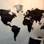 Изготовление трафаретов на заказ лазерная резка пластика окраска краской для меловых досок РостАр тМосква 2018