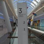 Лазерная резка акрила (пластика) для внутренней навигации торгового центра пример 220 2016год