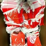 Изготовление флажной ленты на заказ из бумаги гирлянды из флажков РостАрт Москва 2017