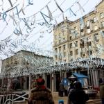 Изготовление флажной ленты на заказ гирлянда из флажков Масленица Москва 2107 изготовитель РостАрт 5512