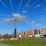 Изготовление флажной ленты на заказ гирлянда из флажков определенных цветов  МЕГА Санкт-Петербург РостАрт 5691