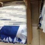 Изготовление гирлянд из флажков на заказ флажная лента на заказ из ткани духцветные флажки РостАрт Москва 16809