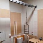 Оборудование туалетной комнаты по программе Доступная среда для МГН РостАрт Москва 2017