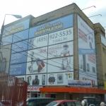 Монтажные работы монтаж банеров на раму для торгового центра широкоформатная печать РостАрт 201