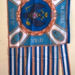 Изготовление флагов на заказ комплект 50 отрисовка макетов флагов печать на ткани резка термоножом РостАрт Москва 2018 2107