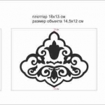 Изготовление трафарета на заказ плоттерная резка пленки РостАрт Москва 2018