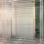 Изготовление стендов пресс-воллов конструкции тип В усиленный на ножках Москва 2017