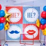 Пресс-волл для праздника на заказ интерьерная печать на баннере фотобутафория РостАрт Москва 2018