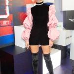 Пресс-волл фотозона 20-летие канала MTV Полина Гагарина Олимпийский Москва 2018