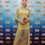 Пресс-волл Премия Золотой Граммафон Светлана Лобода Москва 2017