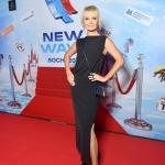 Пресс-волл фотозона музыкальный фестиваль Новая Волна 2018 Валерия СОЧИ 2018