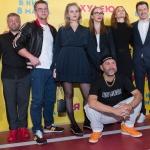 Пресс-волл премьера фильма Я Худею команда фильма Москва 2018
