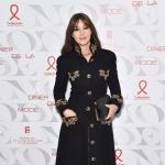 Пресс-волл фотозона благотворительный гала-ужин Неделя Высокой Моды Моника Беллуччи Париж 2019