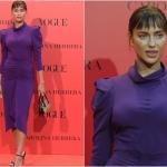 Пресс-волл 30-летие испанского издания журнала Vogue Ирина Шейк Мадрид   Испания 2018
