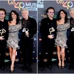 Пресс-волл музыкальная премия 40 Music Awards Боно Пенелопа Круз Адам Клейтон Мадрид 2017