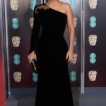 Пресс-волл фотозона 72-я премия Британской академии кино и телевизионных искусств (BAFTA) Сальма Хайек Лондон 2019