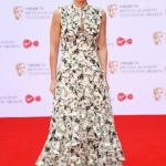 Пресс-волл премия BAFTA в области телевидения Джиллиан Андерсон Лондон 14 мая 2017