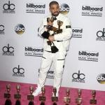 Пресс-волл премия Billboard Music Awards Дрейк 2017