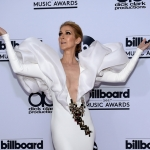 Пресс-волл премия Billboard Music Awards Селин Дион 2017