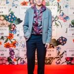 Пресс-волл с красной дорожкой капсульная коллекция Erdem x H&M Влад Лисовец Москва 2017
