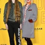 Пресс-волл кинопремьера Grace Jones Bloodlight and Bami Пэм Хогг (справа) с гостьей премьеры  Торонто 2017